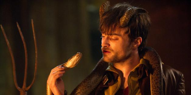 Hörner, Schlange, Dreizack: In dieser Montur dürfte es Ig (Daniel Radcliffe) schwerfallen, seine Mitmenschen von sich zu überzeugen