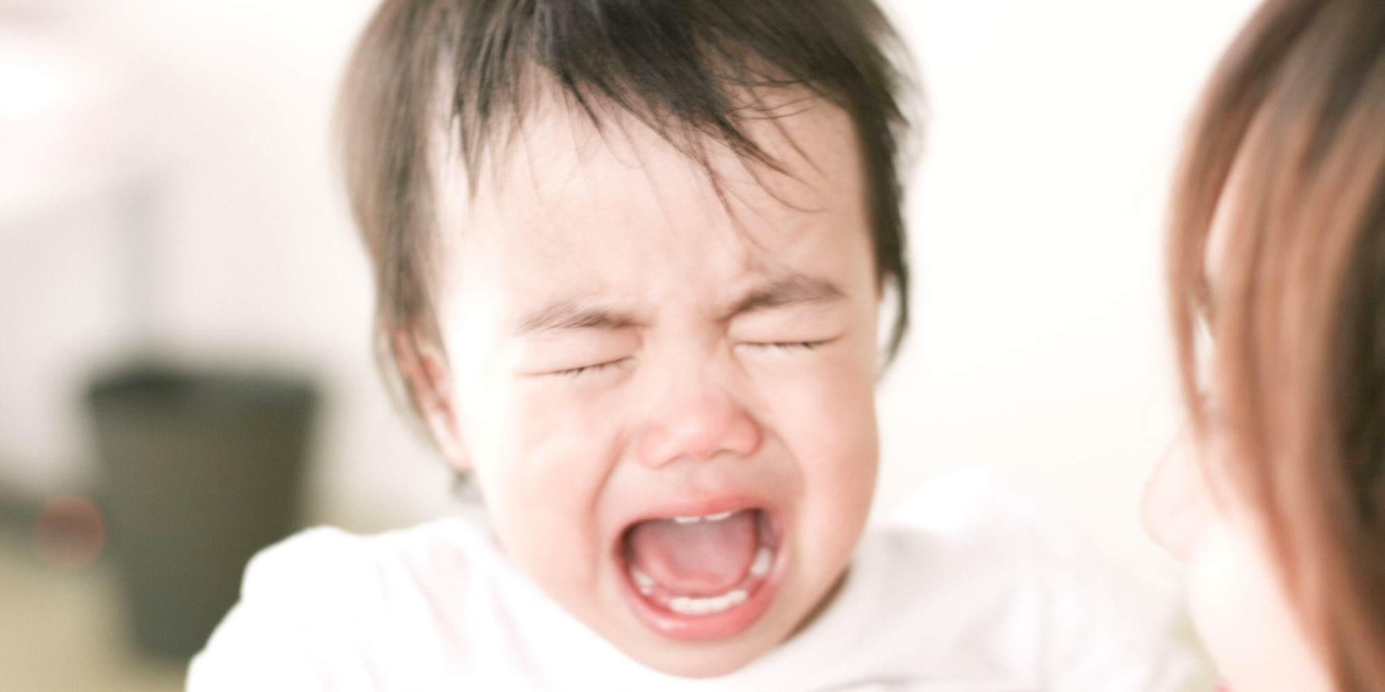 my baby's crying made me cry | huffpost