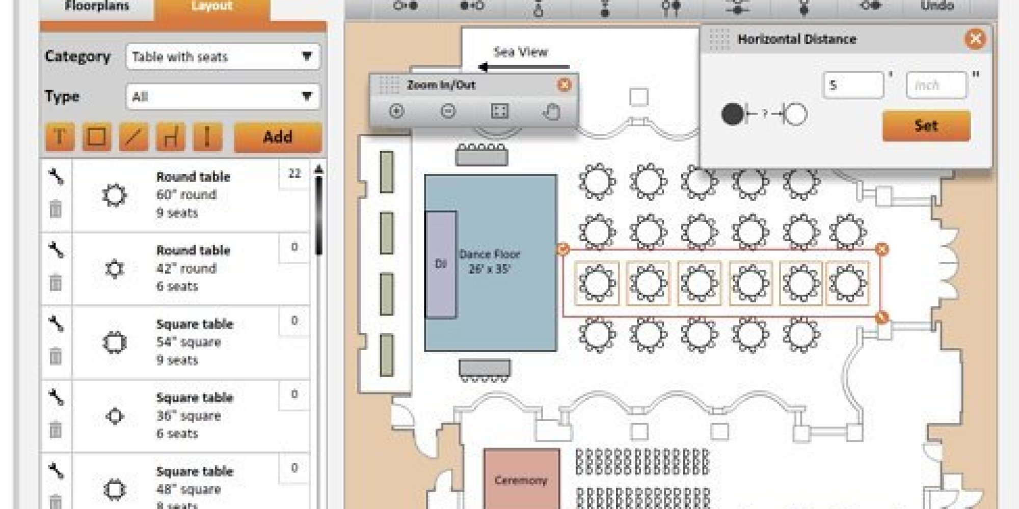 The Best Digital Seating Charts For Wedding Planning HuffPost - Event seating chart template