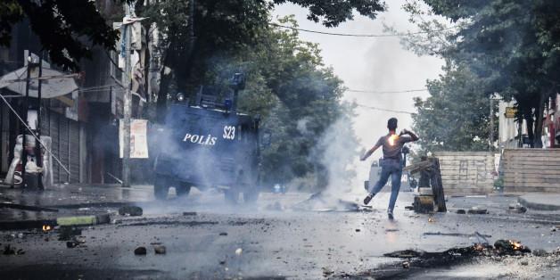 Straßenkämpfe in der Türkei