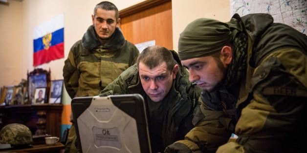 Die Ukraine fürchtet, dass die Rebellen demnächst eine Atomwaffe bauen