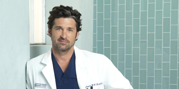 GREY'S ANATOMY - ABC's 'Grey's Anatomy' stars Patrick Dempsey as Derek Shepherd. (Photo by Bob D'Amico/ABC via Getty Images)