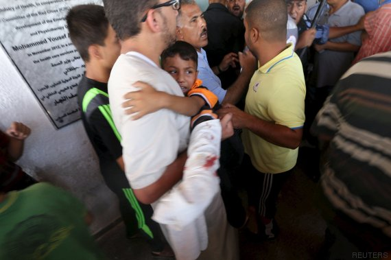 herido gaza