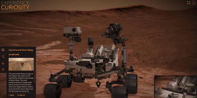 Voyagez sur Mars comme si vous y étiez grâce à la Nasa