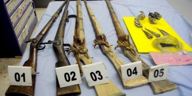 Armes artisanales saisies à Ghardaïa où deux personnes ont été arrêtées
