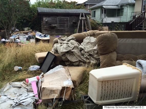 east vancouver house dump