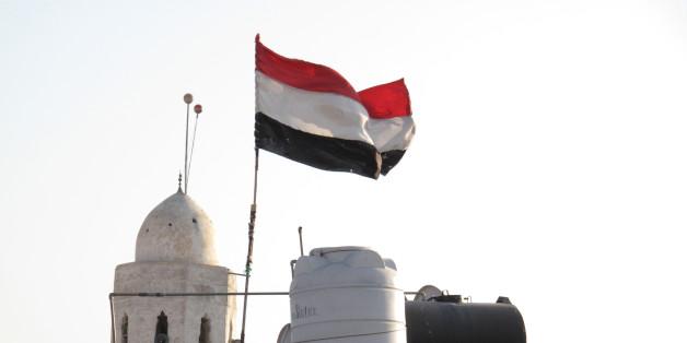 Yemen, Sanaa, Yemeni flag