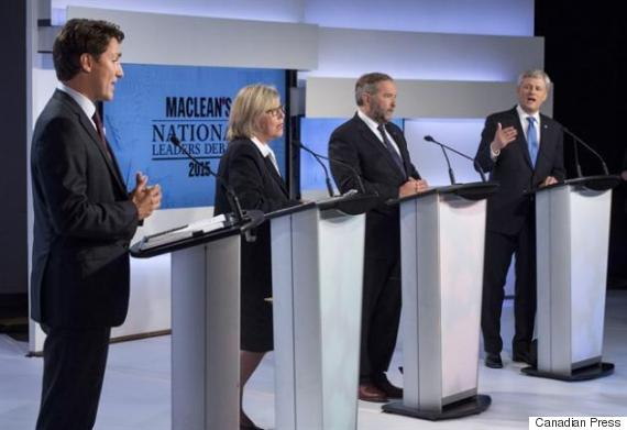 leaders debate canada
