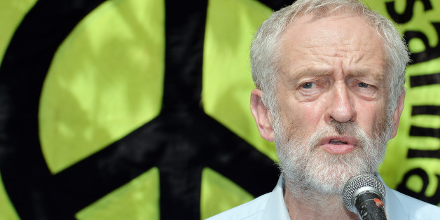 Jeremy Corbyn speaks during an event to mark the 70th anniversary of the Hiroshima bomb, in Tavistock Square, London.
