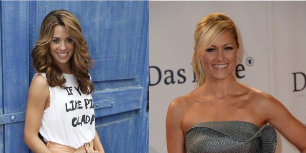 Schlager-Stars: Vanessa Mai (li.) und Helene Fischer