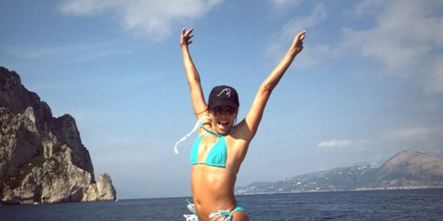 Eva Longoria schwört auf Triangel-Bikini