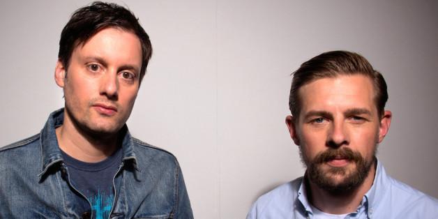 Klaas Heufer-Umlauf und Mark Tavassol machen zusammen Musik