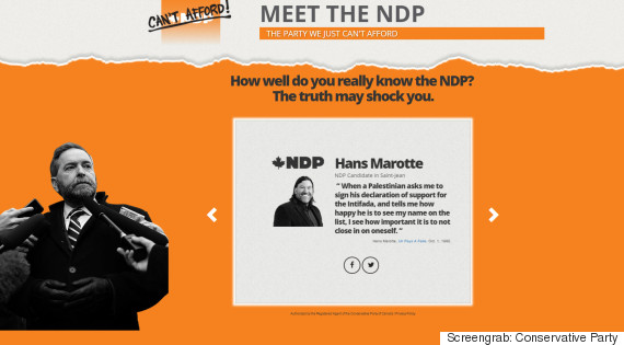 mulcair attack site