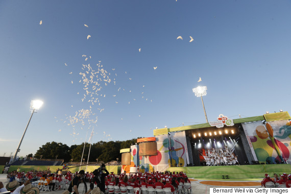 parapan am games ceremony