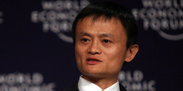 "TIANJIN/CHINA, 28SEPT08 - Jack Ma Yun, Chairman and Chief Executive Officer, Alibaba Group,   speaks during The Future of the Global Economy: The View from China plenary session at the World Economic Forum Annual Meeting of the New Champions in Tianjin, China 28 September 2008.Copyright <a href=""http://www.weforum.org"">World Economic Forum</a> (<a href=""http://www.weforum.org"">www.weforum.org</a>)/Photo by Natalie Behring"