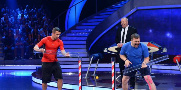 Lukas Podolski trifft auf Elton
