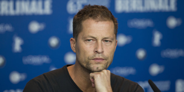 Actor Til Schweiger attends the press conference for the film The Necessary Death Of Charlie Countryman at the 63rd edition of the Berlinale, International Film Festival in Berlin, Germany, Saturday, Feb. 9, 2013. (AP Photo/Gero Breloer)