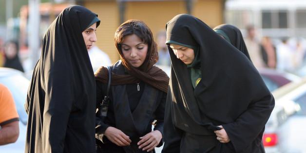 Frauen im Iran müssen Kopftuch tragen