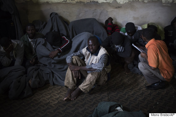 african migrants desperate