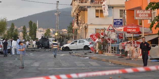 Mehrere Tote bei Angriffen auf die Polizei in Istanbul