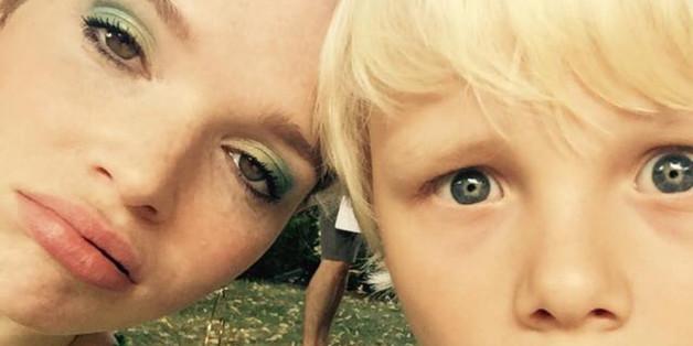 Karoline Herfurth und ihrem Filmpartner setzt die Hitze zu