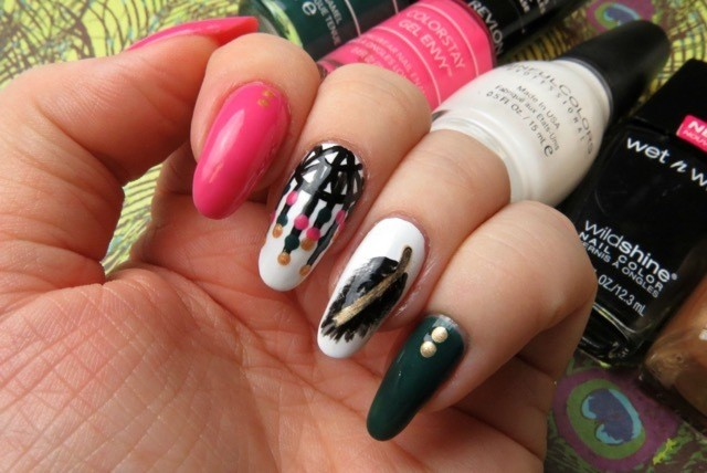 dreamcatcher nail art - ManiMonday: Dreamcatcher Nail Art For Sweet Summer Dreams HuffPost