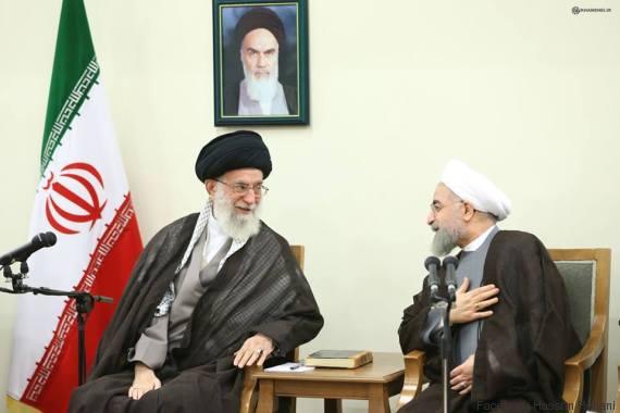 khamenei rohani