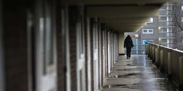 ROCHDALE, ENGLAND - JANUARY 08:  A general view of homes on the Falinge Estate, which has been surveyed as the most deprived area in England for a fifth year in a row, on January 8, 2013 in Rochdale, England. According to data provided by the Department for Communities and Local Government, 72 per cent of people in the local area are unemployed and seven per cent have never had a job. Four out of five children on the estate are living in poverty, with the area having one of the highest teenage p