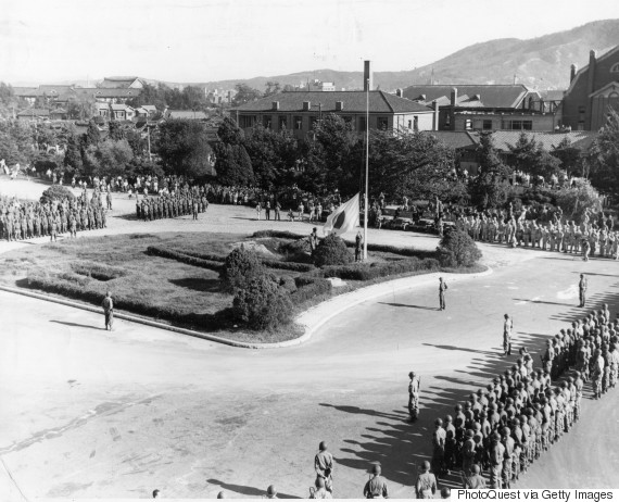japan surrender august 1945