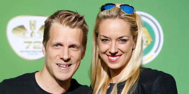 Oliver Pocher mit Freundin Sabine Lisicki