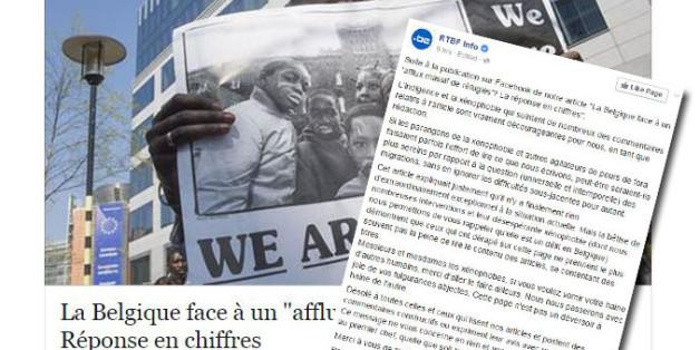 """Exaspéré par les commentaires xénophobes sur Facebook, un journaliste belge adresse un message à """"messieurs et mesdames les xénophobes"""""""