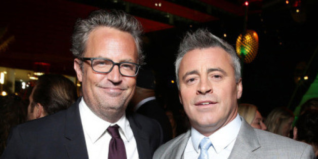 """Anistons """"Friends""""-Kollegen Perry und LeBlanc waren nicht eingeladen"""