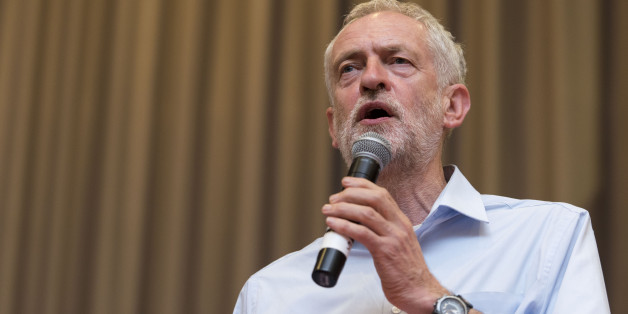 CARDIFF, WALES - AUGUST 11:  Labour leadership candidate Jeremy Corbyn attends a rally at the Mercure Cardiff Holland House Hotel on August 11, 2015 in Cardiff, Wales. Earlier he addressed supporters at a gathering at the memorial stones to Welsh Labour hero and NHS creator Aneurin Bevan in Tredegar, Wales.  (Photo by Matthew Horwood/Getty Images)