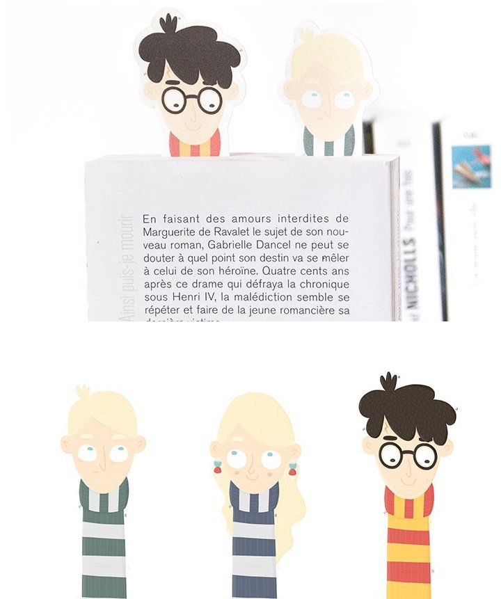 harry potter marque page