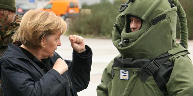 Cette photo d'Angela Merkel vaut le détour(nement)
