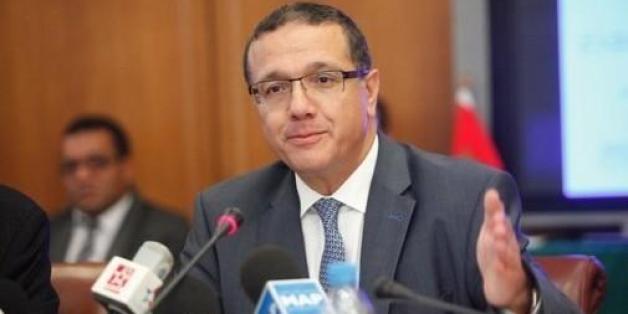 Le ministre de l'Economie et des finances, Mohamed Boussaid