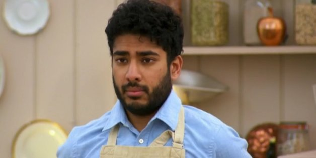 Tamal, a contestant on The Great British Bake Off 2015