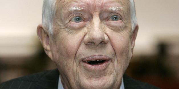 Der frühere US-Präsident Jimmy Carter soll Krebs haben