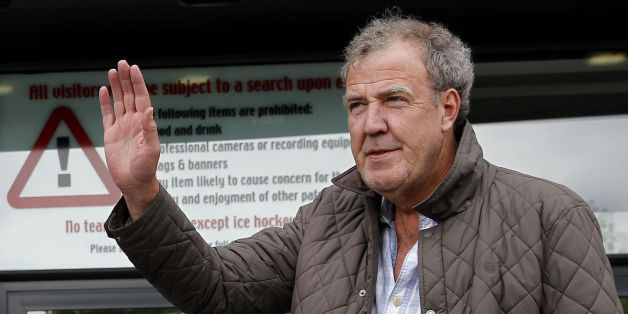 File photo dated 21/05/15 of Jeremy Clarkson, as the former Top Gear host is making his TV comeback this Friday alongside the man tipped to take his job - Chris Evans.