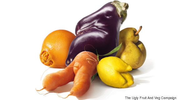 the ugly fruit and veg campaign