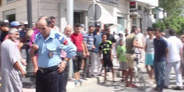 Braquage à l'arme à feu à Tanger.