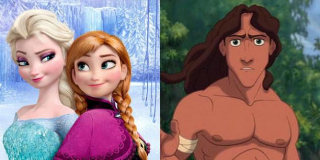 Il y a bien un lien entre la Reine des Neige et Tarzan