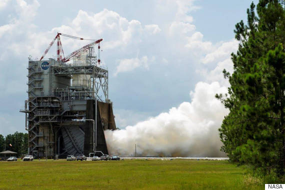 nasa r25 engine space launch system
