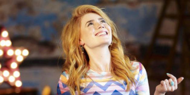 Eigentlich ganz fröhlich: Palina Rojinski