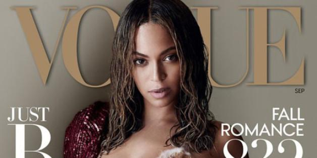 "Beyonce posiert auf dem Cover der September-""Vogue"""