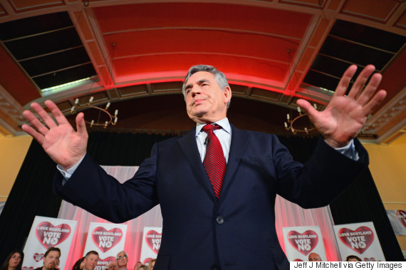 gordon brown scotland independence