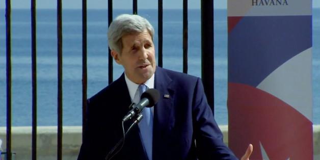 US-Außenminister John Kerry trifft auf Kuba ein