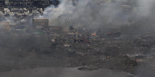 Tianjin: le bilan passe à au moins 85 morts, les habitants de la zone des explosions évacués