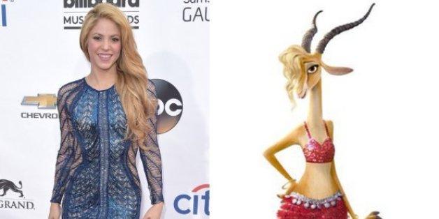 """""""Zoomania"""": Shakira wird für Disney zur Gazelle"""