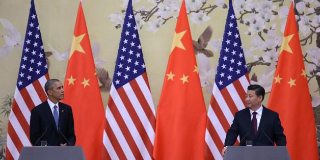 Barack Obama und Chinas Präsident Xi Jinping
